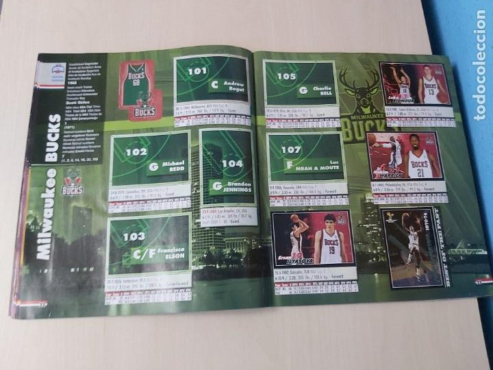 Coleccionismo deportivo: ALBUM BASKETBALL STARS 2009 10 NBA PANINI - INCOMPLETO MUY BUEN ESTADO - Foto 13 - 213446461