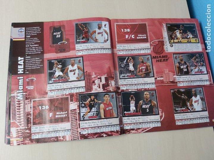 Coleccionismo deportivo: ALBUM BASKETBALL STARS 2009 10 NBA PANINI - INCOMPLETO MUY BUEN ESTADO - Foto 16 - 213446461