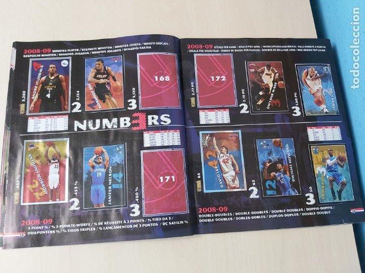 Coleccionismo deportivo: ALBUM BASKETBALL STARS 2009 10 NBA PANINI - INCOMPLETO MUY BUEN ESTADO - Foto 19 - 213446461