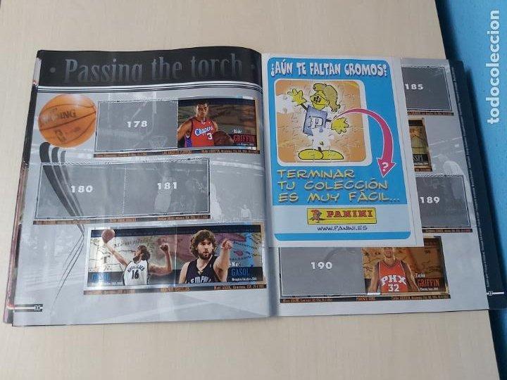 Coleccionismo deportivo: ALBUM BASKETBALL STARS 2009 10 NBA PANINI - INCOMPLETO MUY BUEN ESTADO - Foto 20 - 213446461