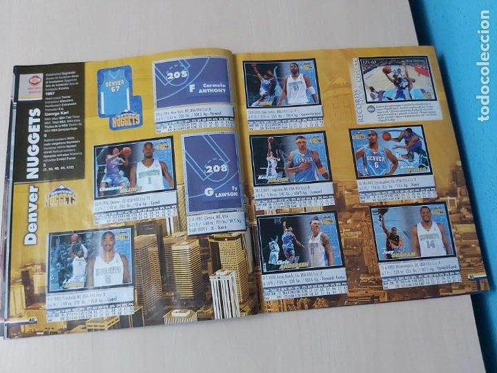 Coleccionismo deportivo: ALBUM BASKETBALL STARS 2009 10 NBA PANINI - INCOMPLETO MUY BUEN ESTADO - Foto 24 - 213446461
