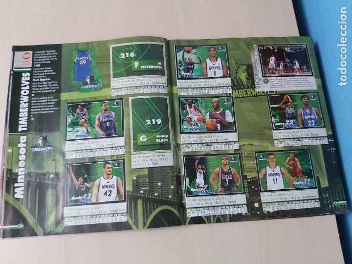 Coleccionismo deportivo: ALBUM BASKETBALL STARS 2009 10 NBA PANINI - INCOMPLETO MUY BUEN ESTADO - Foto 25 - 213446461