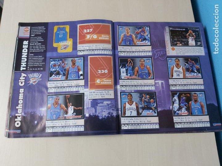 Coleccionismo deportivo: ALBUM BASKETBALL STARS 2009 10 NBA PANINI - INCOMPLETO MUY BUEN ESTADO - Foto 26 - 213446461