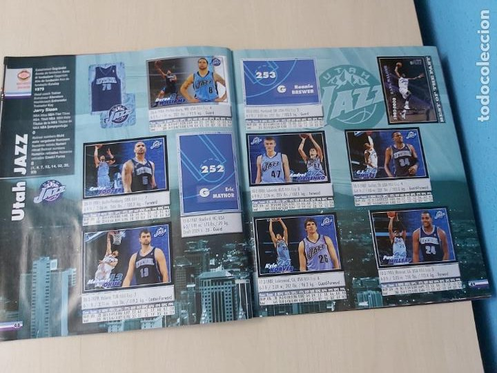 Coleccionismo deportivo: ALBUM BASKETBALL STARS 2009 10 NBA PANINI - INCOMPLETO MUY BUEN ESTADO - Foto 28 - 213446461