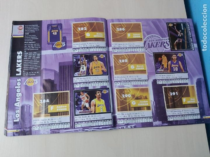 Coleccionismo deportivo: ALBUM BASKETBALL STARS 2009 10 NBA PANINI - INCOMPLETO MUY BUEN ESTADO - Foto 32 - 213446461