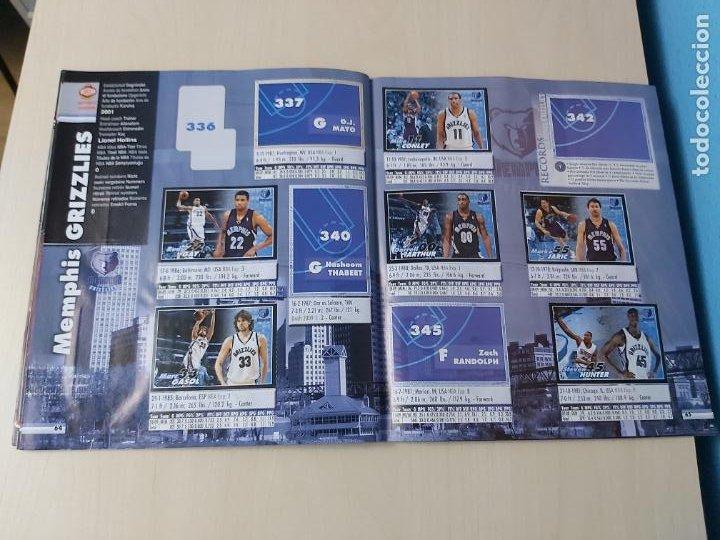 Coleccionismo deportivo: ALBUM BASKETBALL STARS 2009 10 NBA PANINI - INCOMPLETO MUY BUEN ESTADO - Foto 37 - 213446461
