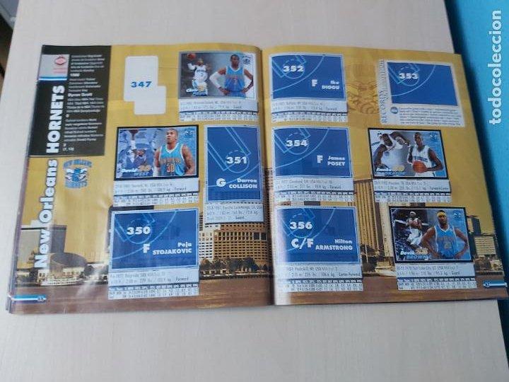 Coleccionismo deportivo: ALBUM BASKETBALL STARS 2009 10 NBA PANINI - INCOMPLETO MUY BUEN ESTADO - Foto 38 - 213446461