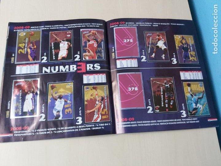 Coleccionismo deportivo: ALBUM BASKETBALL STARS 2009 10 NBA PANINI - INCOMPLETO MUY BUEN ESTADO - Foto 40 - 213446461