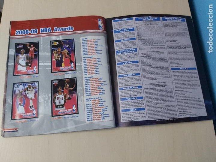 Coleccionismo deportivo: ALBUM BASKETBALL STARS 2009 10 NBA PANINI - INCOMPLETO MUY BUEN ESTADO - Foto 41 - 213446461