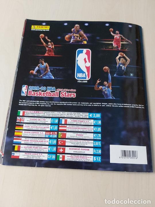 Coleccionismo deportivo: ALBUM BASKETBALL STARS 2009 10 NBA PANINI - INCOMPLETO MUY BUEN ESTADO - Foto 42 - 213446461