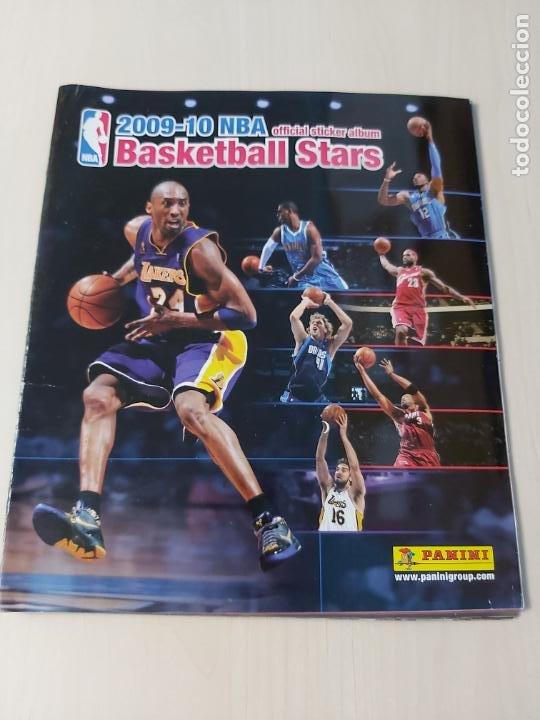 ALBUM BASKETBALL STARS 2009 10 NBA PANINI - INCOMPLETO MUY BUEN ESTADO (Coleccionismo Deportivo - Álbumes otros Deportes)