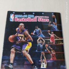 Coleccionismo deportivo: ALBUM BASKETBALL STARS 2009 10 NBA PANINI - INCOMPLETO MUY BUEN ESTADO. Lote 213446461