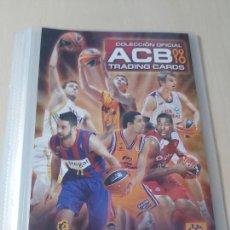 Coleccionismo deportivo: ALBUM ARCHIVADOR LIGA ACB 09 10 PANINI - PANINI - TRADING CARDS - VACIO MUY NUEVO. Lote 213448603