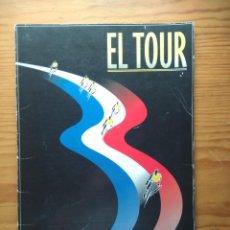 Coleccionismo deportivo: EL TOUR: FUNDA, 17 LÁMINAS Y LOS CICLISTAZOS. Lote 213461197