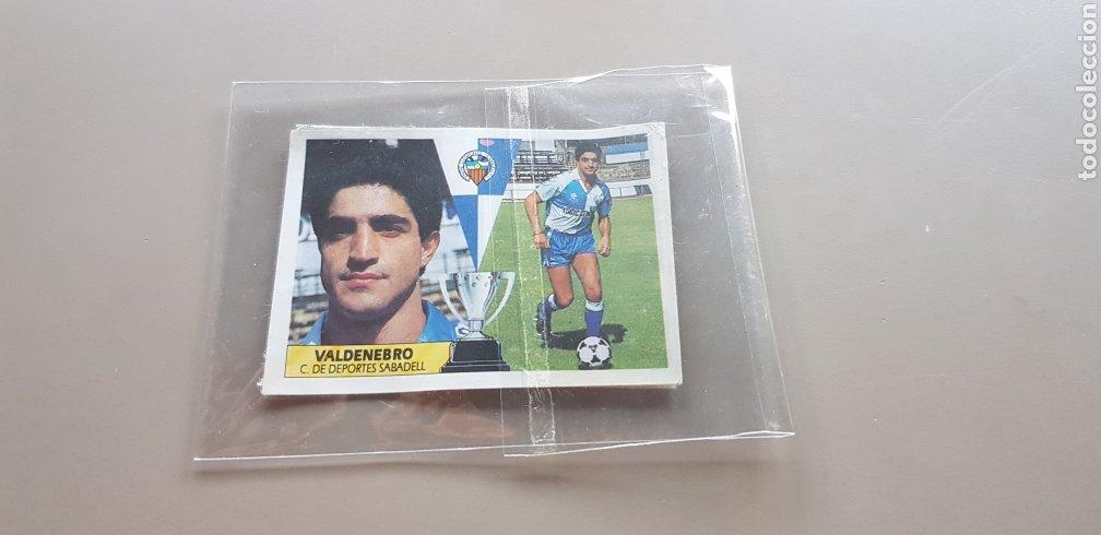 CROMO DIFICIL LIGA ESTE 87 88 1987 1988 COLOCA VALDENEBRO SABADELL (Coleccionismo Deportivo - Álbumes otros Deportes)
