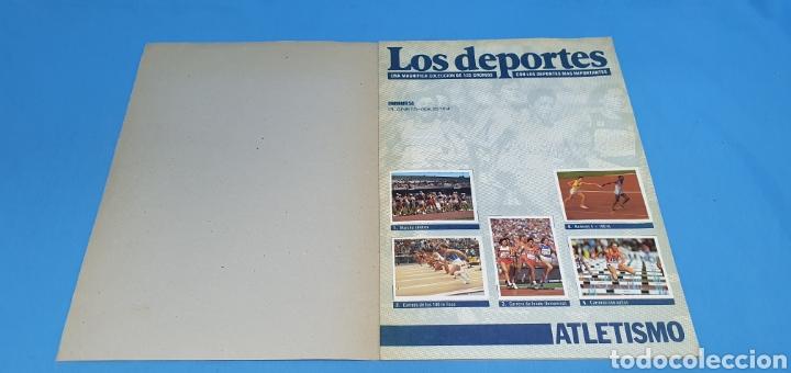 Coleccionismo deportivo: ÁLBUM DE CROMOS - ÉRASE UNA VEZ EL CUERPO HUMANO - LOS DEPORTES - PLANETA AGOSTINI - Foto 2 - 213691368