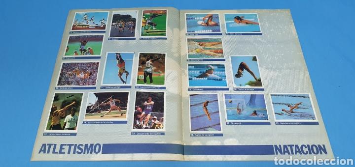 Coleccionismo deportivo: ÁLBUM DE CROMOS - ÉRASE UNA VEZ EL CUERPO HUMANO - LOS DEPORTES - PLANETA AGOSTINI - Foto 3 - 213691368
