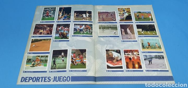 Coleccionismo deportivo: ÁLBUM DE CROMOS - ÉRASE UNA VEZ EL CUERPO HUMANO - LOS DEPORTES - PLANETA AGOSTINI - Foto 5 - 213691368