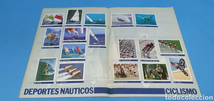Coleccionismo deportivo: ÁLBUM DE CROMOS - ÉRASE UNA VEZ EL CUERPO HUMANO - LOS DEPORTES - PLANETA AGOSTINI - Foto 6 - 213691368