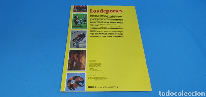 Coleccionismo deportivo: ÁLBUM DE CROMOS - ÉRASE UNA VEZ EL CUERPO HUMANO - LOS DEPORTES - PLANETA AGOSTINI - Foto 11 - 213691368
