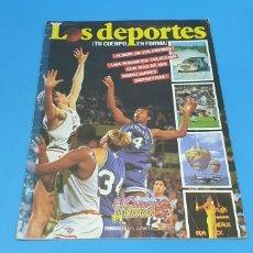 Coleccionismo deportivo: ÁLBUM DE CROMOS - ÉRASE UNA VEZ EL CUERPO HUMANO - LOS DEPORTES - PLANETA AGOSTINI. Lote 213691368