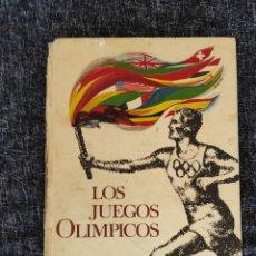 Collectionnisme sportif: ALBUM DE CROMOS LOS JUEGOS OLIMPICOS, DE NESTLÉ - ALBUM COMPLETO AÑO 1964 - RESERVADO. Lote 87776148