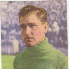 Coleccionismo deportivo: CROMO-TARJETA PUBLICIDAD DE BAYER. BUSTOS DEL SEVILLA CLUB DE FUTBOL. AÑO 1950. Lote 214633468