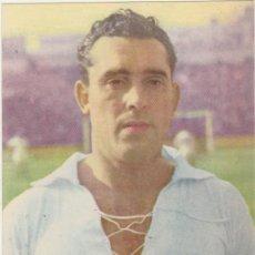 Coleccionismo deportivo: CROMO-TARJETA PUBLICIDAD DE BAYER. ALCONERO DEL SEVILLA CLUB DE FUTBOL. AÑO 1950. Lote 214633501