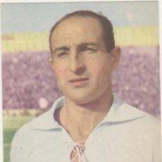 Coleccionismo deportivo: CROMO-TARJETA PUBLICIDAD DE BAYER. ARAUJO DEL SEVILLA CLUB DE FUTBOL. AÑO 1950. Lote 214633516