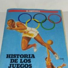 Coleccionismo deportivo: ALBUM 1990 HISTORIA DE LOS JUEGOS OLIMPICOS. COMPLETO.. Lote 214909180