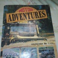 Coleccionismo deportivo: ALBUM MOTOR ADVENTURES . COMPLETO. PANINI. 1987. Lote 214944967