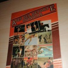 Coleccionismo deportivo: ÁLBUM ASES DEL DEPORTE MUNDIAL - BRUGUERA. Lote 215085335