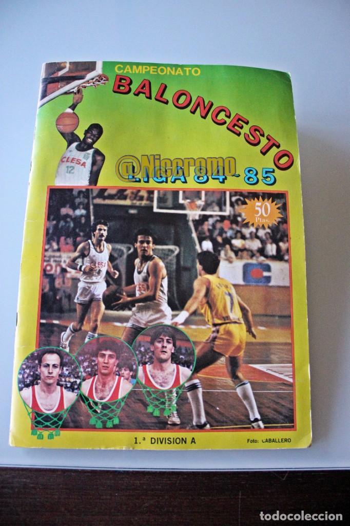 ALBUM COMPLETO BALONCESTO LIGA 1984 1985 J MERCHANTE BASKET 84 85 NBA (Coleccionismo Deportivo - Álbumes otros Deportes)