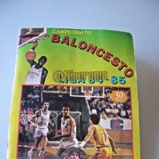 Coleccionismo deportivo: ALBUM COMPLETO BALONCESTO LIGA 1984 1985 J MERCHANTE BASKET 84 85 NBA. Lote 215142682