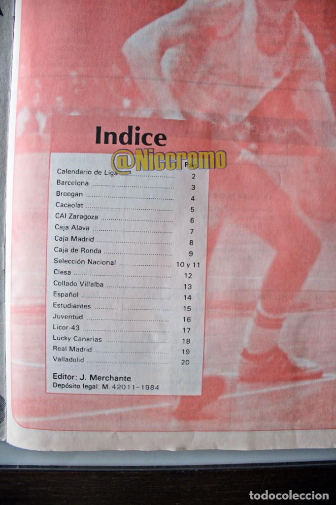 Coleccionismo deportivo: album completo baloncesto liga 1984 1985 j merchante basket 84 85 nba - Foto 2 - 215142682