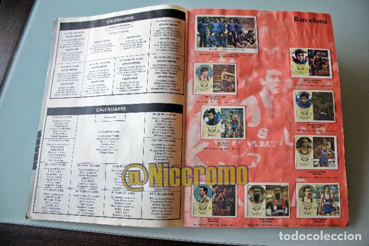 Coleccionismo deportivo: album completo baloncesto liga 1984 1985 j merchante basket 84 85 nba - Foto 3 - 215142682