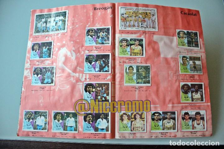 Coleccionismo deportivo: album completo baloncesto liga 1984 1985 j merchante basket 84 85 nba - Foto 4 - 215142682