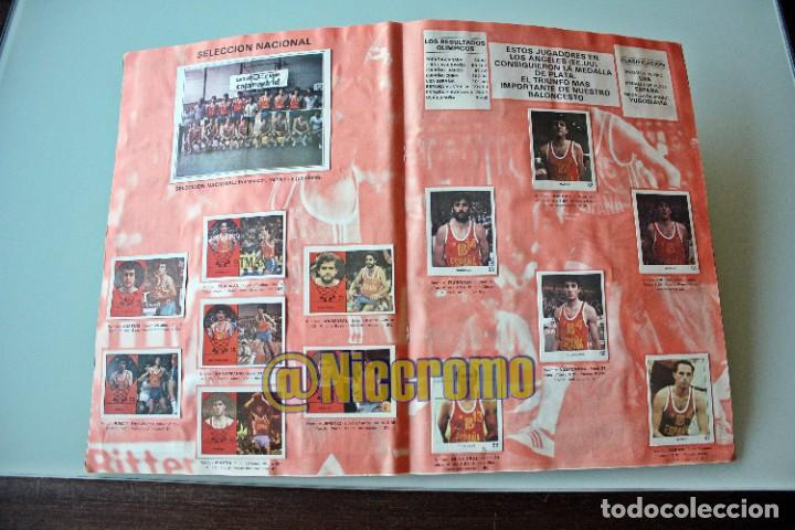 Coleccionismo deportivo: album completo baloncesto liga 1984 1985 j merchante basket 84 85 nba - Foto 7 - 215142682