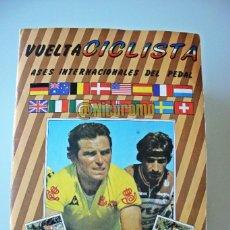 Coleccionismo deportivo: ALBUM COMPLETO CICLISMO AÑO 1983 J MERCHANTE ASES PELOTON INTERNACIONAL 83 CICLISTAS. Lote 215143953
