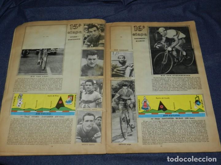 Coleccionismo deportivo: ALBUM VUELTA CICLISTA A ESPAÑA 1959 EDT FHER, CONTIENE 126 CROMOS DE 201, SEÑALES DE USO - Foto 8 - 216552988