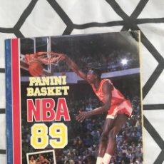 Coleccionismo deportivo: ALBUM INCOMPLETO NBA 88-89. Lote 216877130