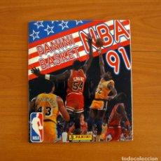Coleccionismo deportivo: ÁLBUM BASKET NBA 91, 1991 - EDITORIAL PANINI - COMPLETO. Lote 217078543