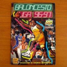 Collezionismo sportivo: ÁLBUM BALONCESTO LIGA ACB 96-97, 1996-1997 - MUNDICROMO, MUNDI CROMO SPORT - LE FALTA 48 CROMOS. Lote 217195708