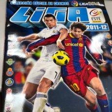 Collezionismo sportivo: ALBUM CROMOS LIGA 2011-12 LFP FUTBOL VACÍO. Lote 217683236
