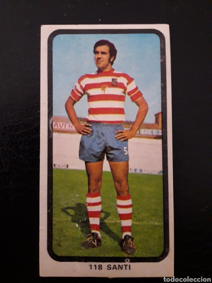 SANTI GRANADA N° 118 DOBLE RUIZ ROMERO 74 75 1974 1975. DESPEGADO. VER FOTOS DE FRONTAL Y TRASERA (Coleccionismo Deportivo - Álbumes otros Deportes)