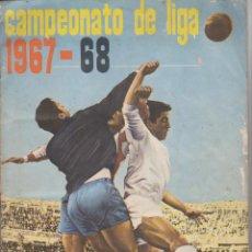 Coleccionismo deportivo: CAMPEONATO DE LIGA 1967-68. DISGRÁ. COMPLETO. 272 CROMOS + 9 CROMOS DOBLES. Lote 218655598