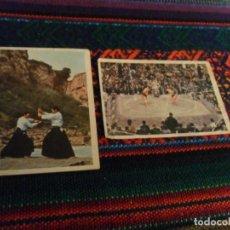 Coleccionismo deportivo: CROMO NUNCA PEGADO ARTES MARCIALES NºS 17 Y 117. FHER 1976. RAROS.. Lote 219041478