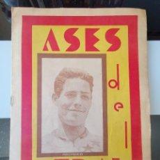 Coleccionismo deportivo: ALBUM ASES DEL PEDAL AUTOGRAFO CICLISMO AÑOS 50 COMPLETO VUELTA CICLISTA MBE. Lote 219130967