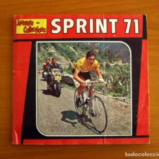 Coleccionismo deportivo: ÁLBUM SPRINT 71 - COMPLETO - EDITORIAL PANINI 1971 - JEUNESSE COLLECTIONS CICLISMO. Lote 219475602