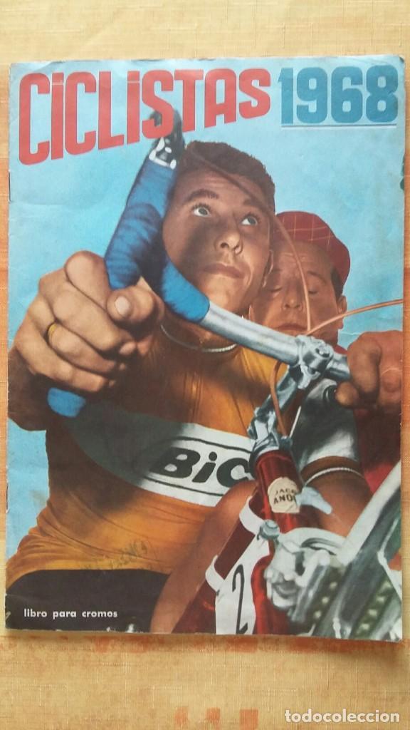 CICLISTAS 1968 EDICIONES LAIDA ALBÚM COMPLETO (Coleccionismo Deportivo - Álbumes otros Deportes)